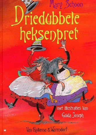 'Driedubbele heksenpret', door Mary Schoon